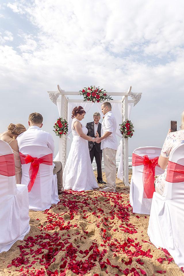 Small Beach Wedding at Ballito