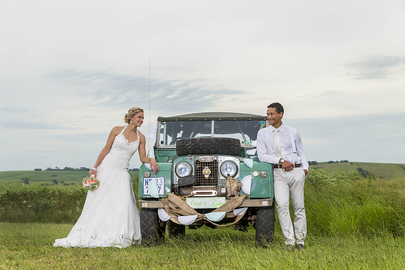 This wedding couple had the best time with Sam Basson
